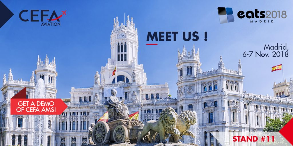 Get a demo of CEFA AMS during EATS 2018 in MAdrid!