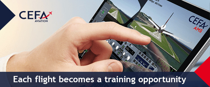 Each flight becomes a training opportunity