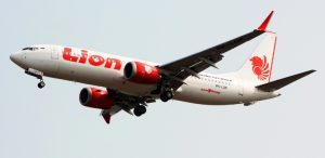 Lion Air aircraft that crashed in October 2018