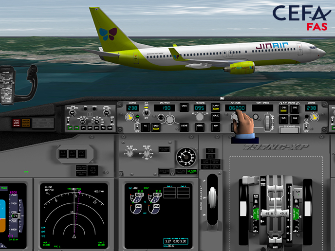 A new client for CEFA Aviation: Jin Air