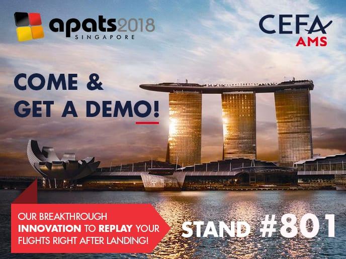 Get a live demo of CEFA AMS at #APATS2018!