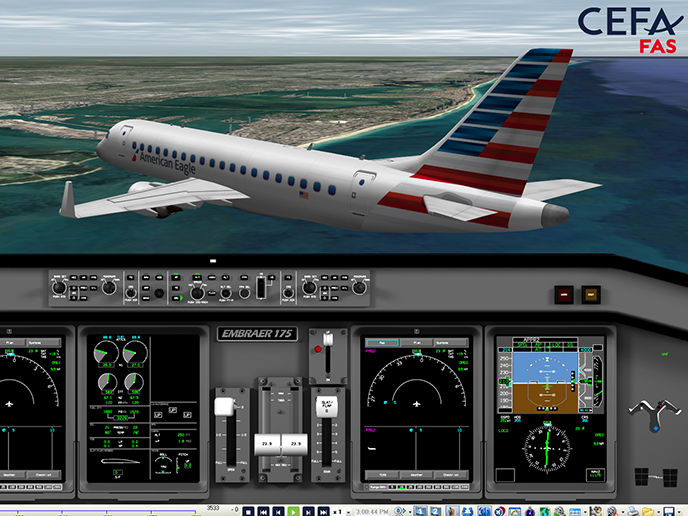 Envoy Air aims at being the safest regional airline and chooses CEFA FAS