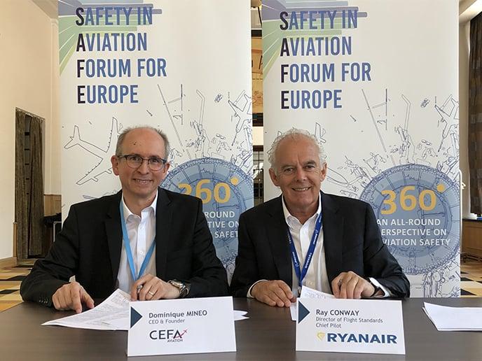 Ryanair chooses CEFA AMS!