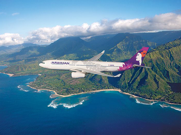 Aloha Hawaiian Airlines! The flag carrier of Hawaii chose CEFA FAS