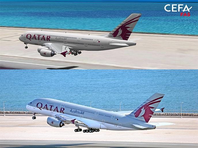 Qatar Airways, new client of CEFA Aviation!