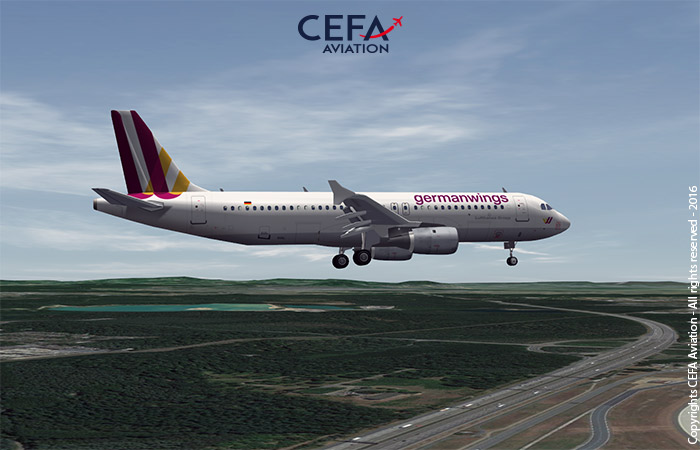 """Germanwings' testimony: """"we use CEFA FAS with great success for flight reviews and …"""""""