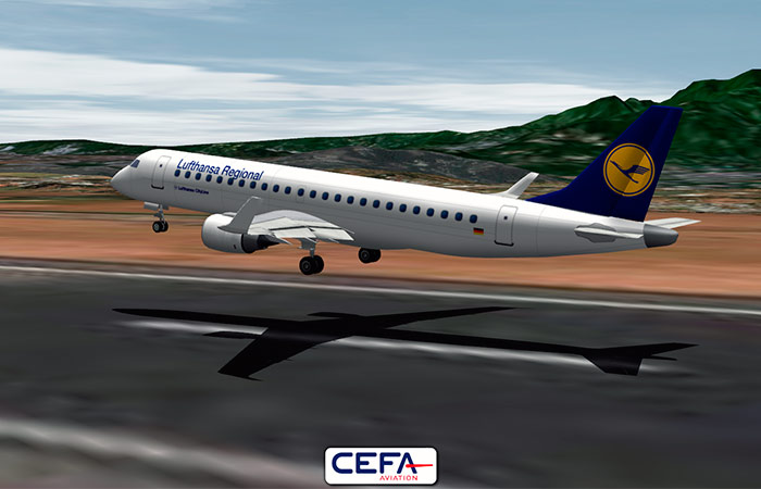 Lufthansa CityLine selects CEFA FAS to animate its FOQA events