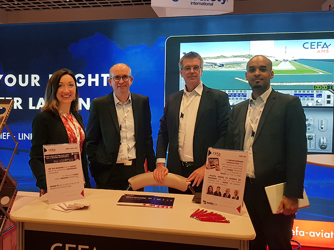 WATS (World Aviation Training Summit) 2018: success all along the line for CEFA AMS!