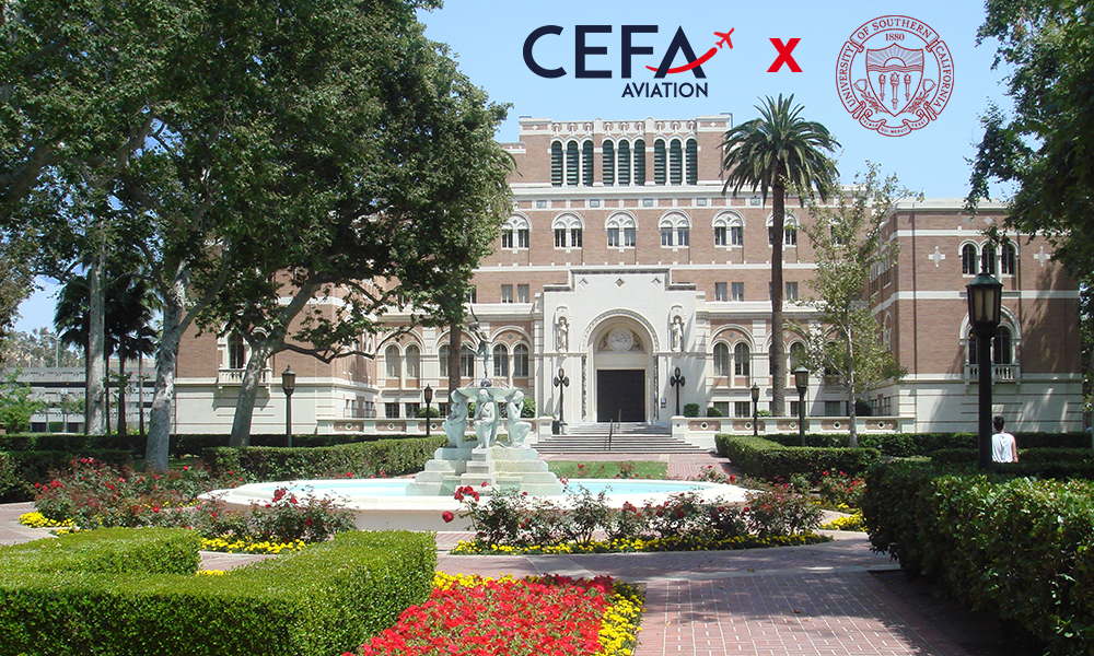 CEFA Aviation x University of Southern California: together for a unique & comprehensive training on flight safety!