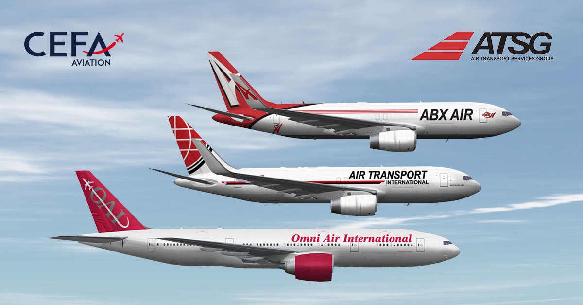 ABX Air and ATI fleet join Omni Air on using with CEFA FAS